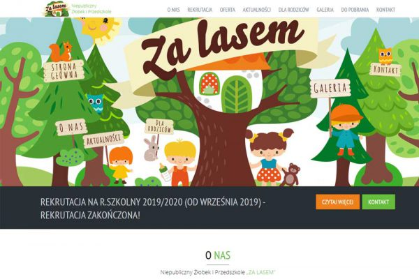 Przedszkole Za lasem